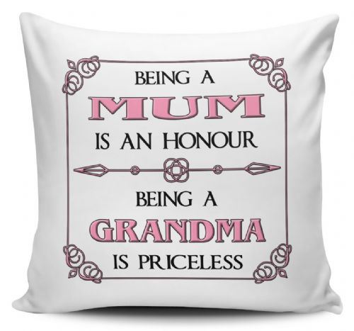 Being A... Is An Honour Being A... Is Priceless Cushion Cover - Pink